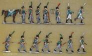 B+S Zinnfiguren: Sächsische Leichte Truppen, 1810 bis 1813