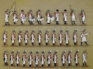 Kieler Zinnfiguren: Infanterieregiment König, 1810 bis 1813