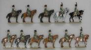 Kieler Zinnfiguren: Garde-Jäger zu Pferd im Halt, 1804 bis 1815