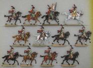 Kieler Zinnfiguren: Garde Jäger zu Pferd, 1804 bis 1815
