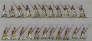 Diverse Hersteller: Musketiere im Angriff 1806, 1789 bis 1807