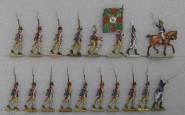 Diverse Hersteller: Musketiere im Angriff, 1789 bis 1807