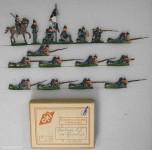 OKI (Ochel/Kiel): Infanterie in Feuerlinie, 1870 bis 1871