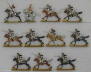 Diverse Hersteller: Kürassiere im Angriff, 1804 bis 1815