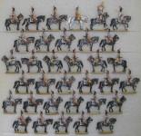 Diverse Hersteller: Carabiniers im Halt, 1804 bis 1810