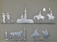B+S Zinnfiguren: 30. Chasseurs, Hamburger Jäger, 1812 bis 1813