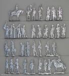 Verschiedene Hersteller: Leichte Infanterie im Halt, 1806 bis 1813