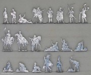 Berliner Zinnfiguren: Freikorps Lützow im Biwak, 1813 bis 1815