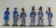 Diverse Hersteller: Generalstab zu Fuß, 1808 bis 1815