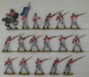 Kieler Zinnfiguren: Infanterie in Abwehr, 1813 bis 1815
