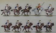 Kieler Zinnfiguren: Garde du Corps im Angriff, 1810 bis 1813