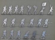 Hafer: Linieninfanterie im Angriff, 1870 bis 1871