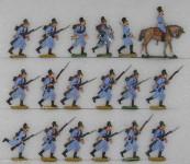 Frauendorf: Infanterie im Angriff, 1870 bis 1871