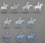 Hafer: Dragoner Angriff erwartend, 1870 bis 1871