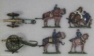 Kieler Zinnfiguren: Linienartillerie, 1870 bis 1871