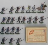 OKI (Ochel/Kiel): Infanterie im Sturm laufend, 1870 bis 1871