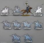 Kieler Zinnfiguren: Ulanen im Angriff, 1870 bis 1871