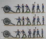 Diverse Hersteller: Artillerie im Feuer, 1870 bis 1871