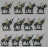 Diverse Hersteller: Kürassiere im Halt, 1888 bis 1913