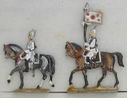 Diverse Hersteller: Kürassiere im Marsch, 1871 bis 1914