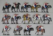Kieler Zinnfiguren: Spahis im Feuergefecht, 1870 bis 1871