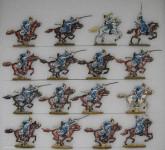 Kieler Zinnfiguren: Dragoner im Angriff, 1870 bis 1871