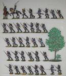 Verschiedene Hersteller: Infanterie im Angriff, 1870 bis 1871