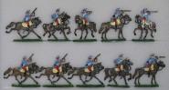 Kieler Zinnfiguren: Chasseurs a cheval, 1870 bis 1871