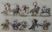 Kieler Zinnfiguren: Kürassiere im Angriff, 1870 bis 1871