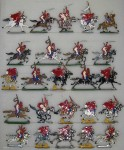 Kieler Zinnfiguren: Spahis im Angriff, 1870 bis 1871
