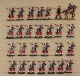 Droste, von: Linieninfanterie im Marsch, 1870 bis 1871