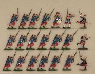 Verschiedene Hersteller: Infanterie im Sturm, 1870 bis 1871