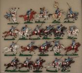 Verschiedene Hersteller: Dragoner im Angriff, 1870 bis 1871