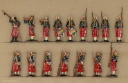Diverse Hersteller: Stabswache der Garde-Zuaven, 1870 bis 1871
