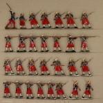 Verschiedene Hersteller: Garde-Zuaven im Feuergefecht, 1870 bis 1871