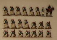 Kieler Zinnfiguren: Turcos in Reserve, 1870 bis 1871