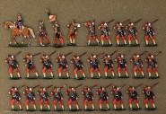 Heinrichsen: Garde-Grenadiere im Marsch, 1870 bis 1871