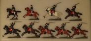 Heinrichsen: Chasseurs a cheval, 1870 bis 1871
