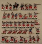 Verschiedene Hersteller: Zuaven im Gefecht, 1870 bis 1871