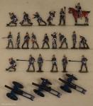 Verschiedene Hersteller: Artillerie im Gefecht, 1870 bis 1871