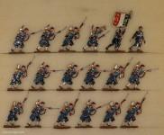 Kieler Zinnfiguren: Mobilgarden im Angriff, 1870 bis 1871
