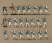 Kieler Zinnfiguren: Turcos im Angriff, 1870 bis 1871