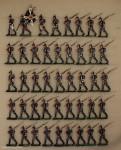 Kieler Zinnfiguren: Infanterie im Vormarsch, 1870 bis 1871