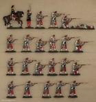 Hafer: Infanterie mit Tschako, 1854 bis 1869
