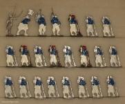 Kieler Zinnfiguren: Turcos im Halt, 1870 bis 1871