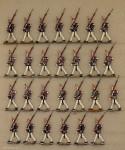 Kieler Zinnfiguren: Gardegrenadiere im Marsch, 1871 bis 1918