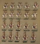 Heinrichsen: Gardekürassiere in Parade, 1888 bis 1913