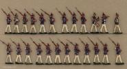 Heinrichsen: Infanterie in Parade, 1870 bis 1913