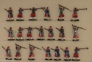 Heinrichsen: Infanterie im Rückzugsgefecht, 1870 bis 1871