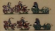 Kieler Zinnfiguren: Artillerie im Galopp, 1870 bis 1871